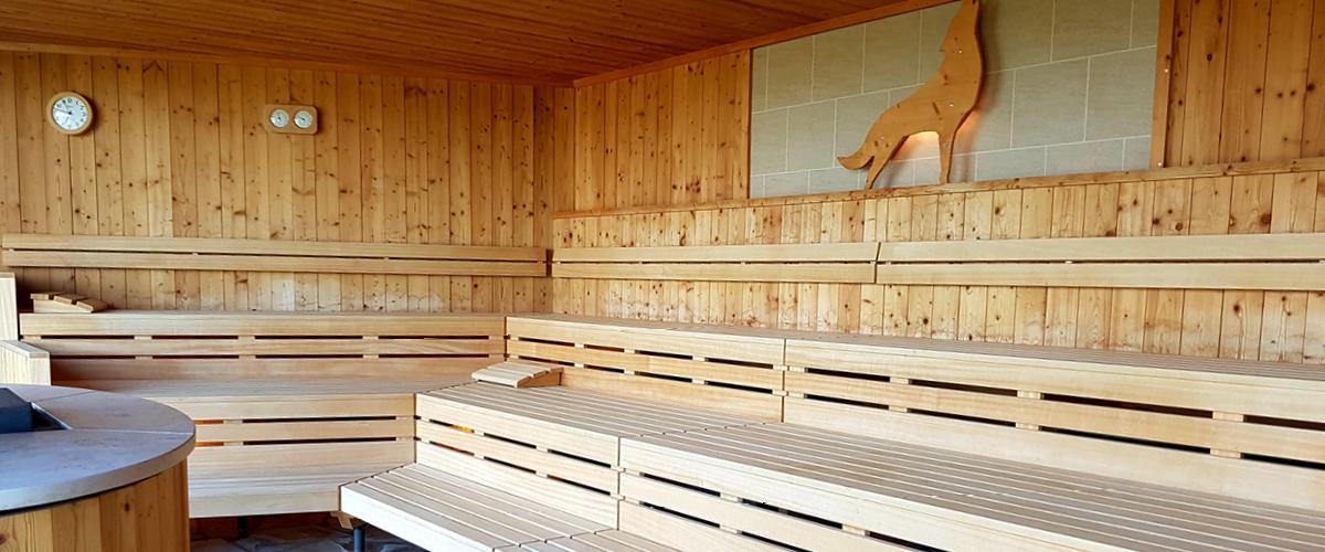 Innenbereich unserer SaunaLandschaft